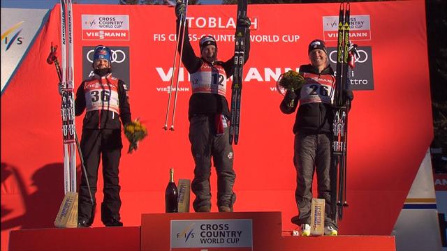 Ustiugov extends streak in Toblach, Diggins wins third-straight event