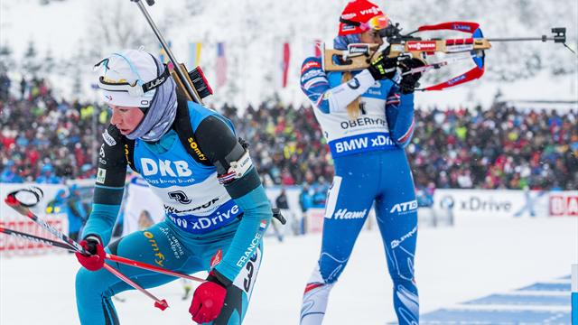 Habert follows in Fourcade's footsteps with Oberhof victory