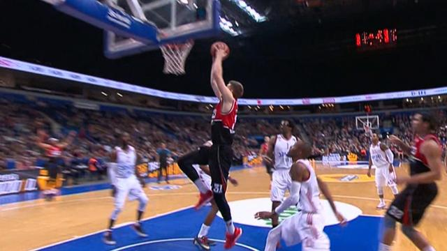The Top 10 plays from Round 16 of the EuroCup
