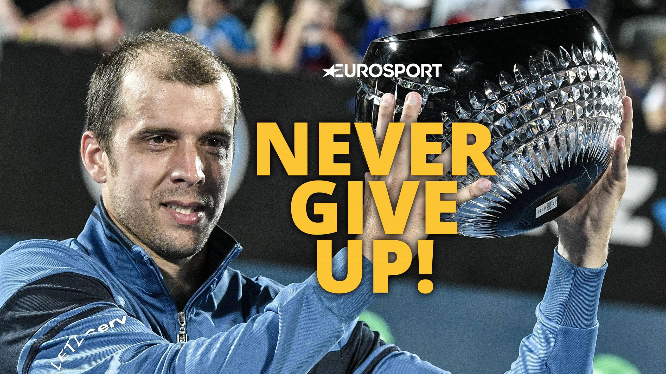 Chase those dreams - Gilles Muller wins a title at last