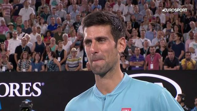VIDEO: Djokovic discusses family, and coming 'home'