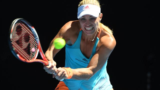 Kerber motors into last eight in Dubai