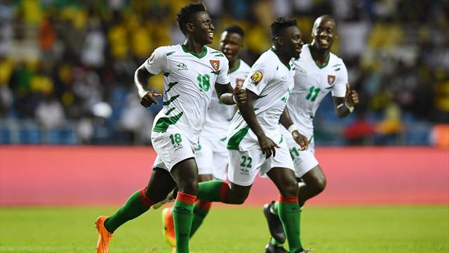 Cameroon come from behind to pip Guinea-Bissau in thriller