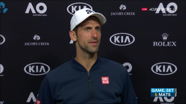 VIDEO: Djokovic - It was one of those days, nothing is impossible