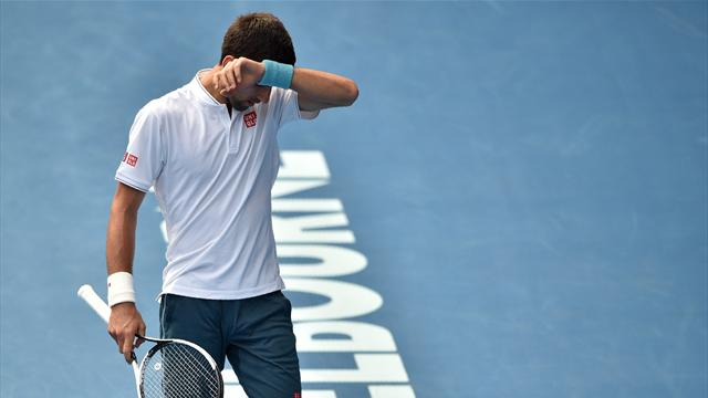 Djokovic is no longer the dominant force after Istomin shock