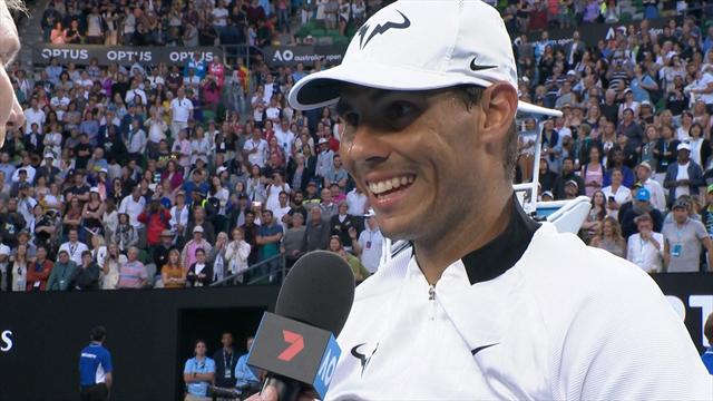 VIDEO: Nadal: Zverev is the future of tennis