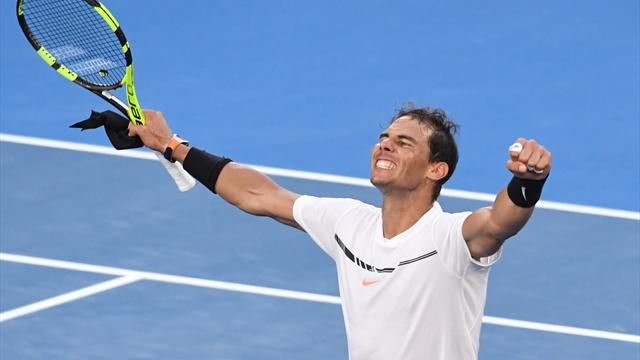 Nadal beats starlet Zverev in five-set thriller