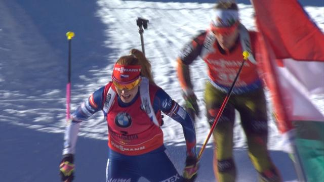 Horchler triumphs in Antholz sprint finish