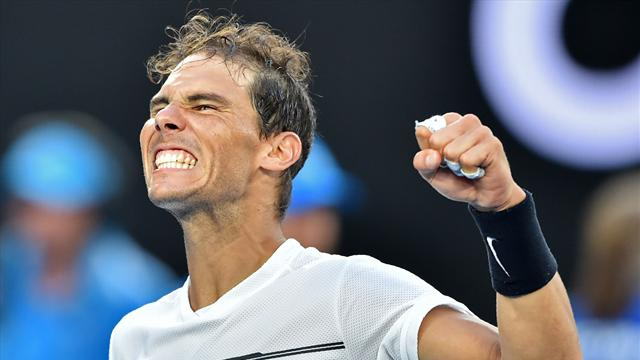 Nadal heralds 'future star of tennis' but clings gloriously to the present