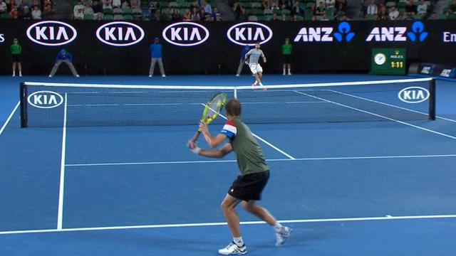 VIDEO: Highlights - Dimitrov defeats Gasquet deep into the night