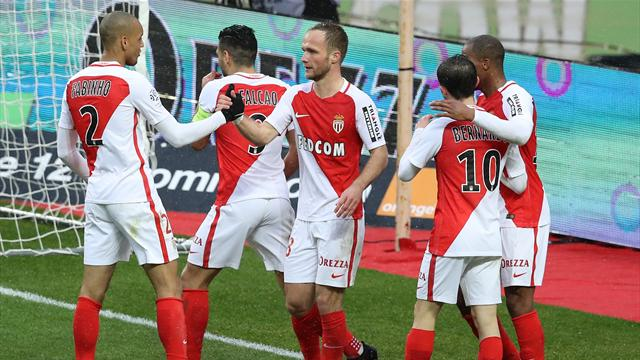 Free-scoring Monaco take command with Lorient win