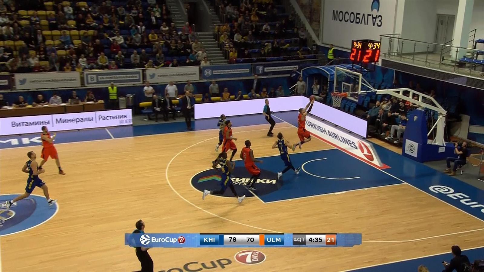 Video khimki moscow region beat ratiopharm in group f - British basketball league table ...