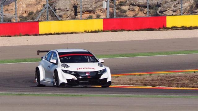 Honda tests to be best in WTCC