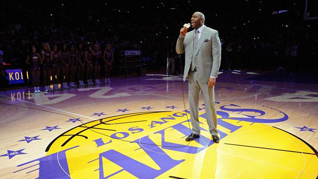 Magic named Lakers' president of basketball operations