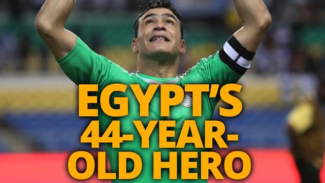 El-Hadary - the 44-year-old on the brink of AFCON history