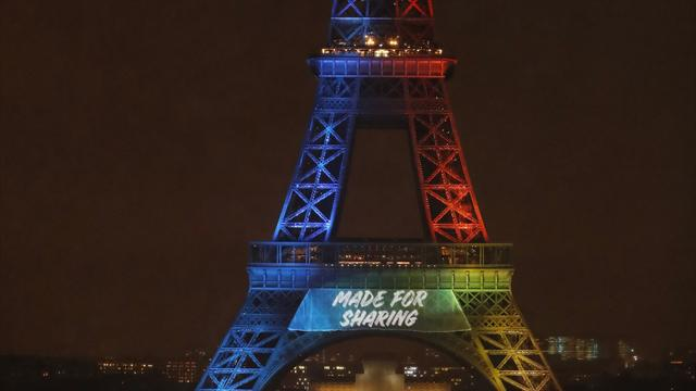 Des associations attaquent le slogan en anglais de Paris
