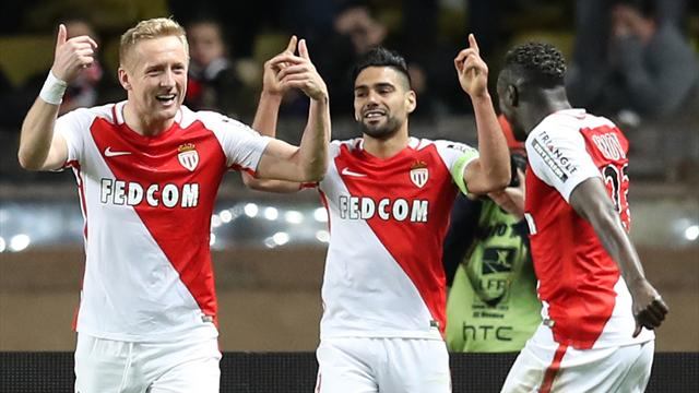 Falcao scores double as Monaco beat Nice to pull clear in Ligue 1