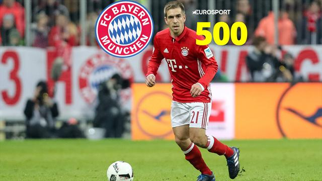 Philipp Lahm: Bayern Munich Legend just made his 500th appearance