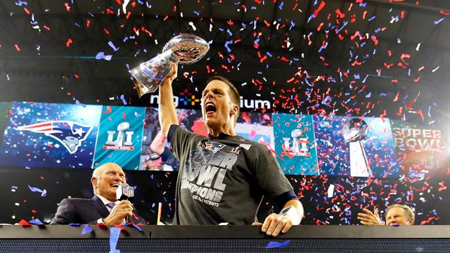 Brady's Patriots stage greatest comeback in Super Bowl history to claim victory