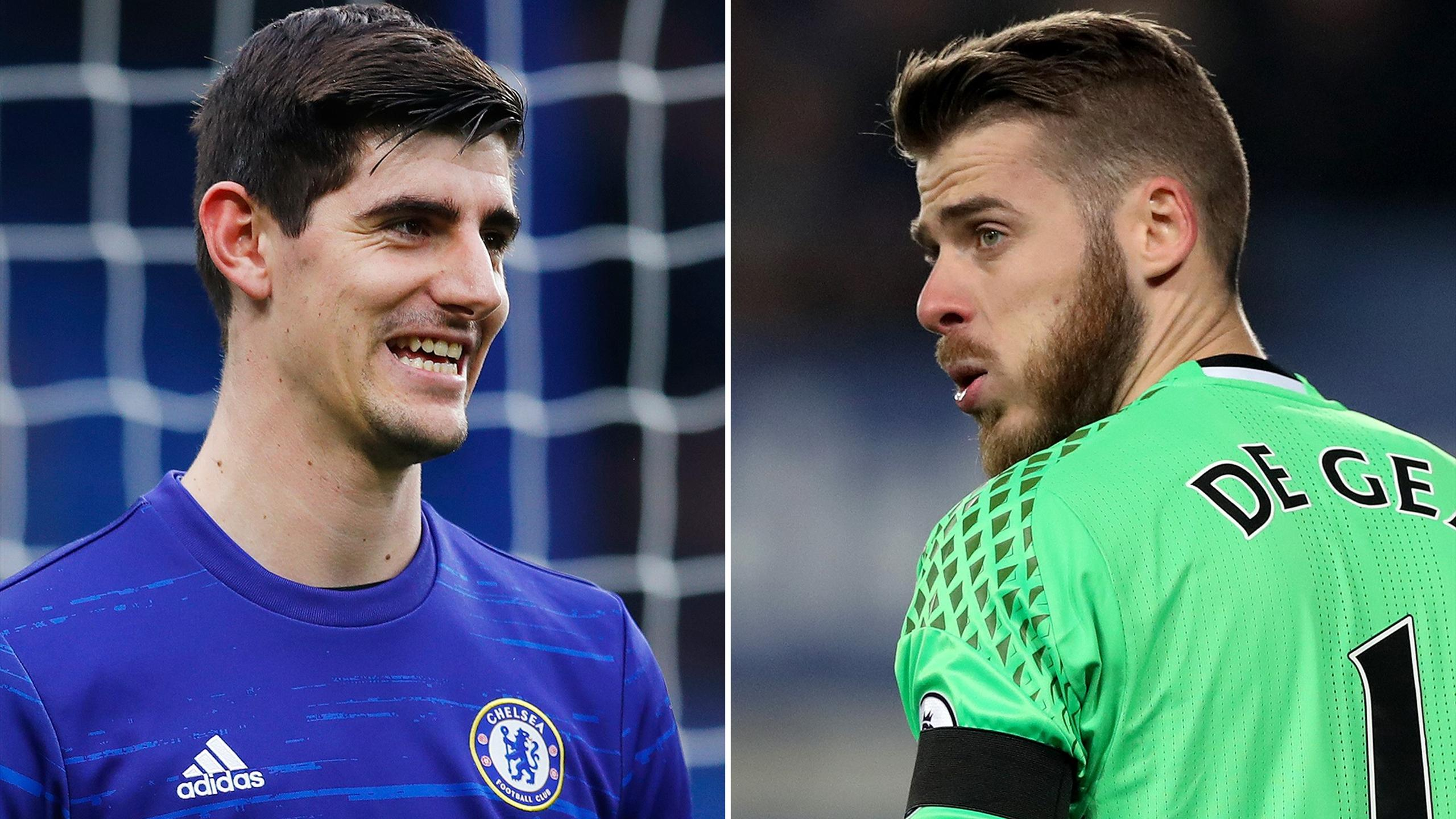Thibaut Courtois and David De Gea are both targets of Real Madrid
