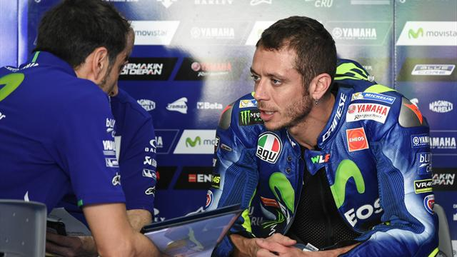 Rossi: Long-run pace makes Marquez favourite