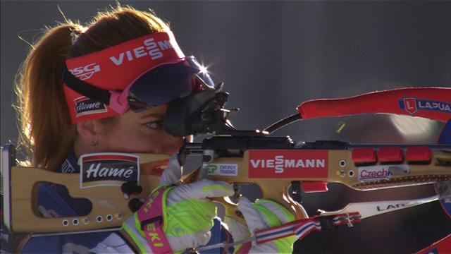 Dahlmeier claims gold at World Champs in Austria