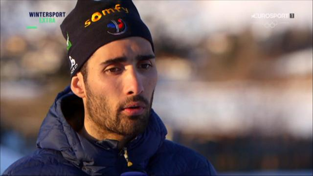 Fourcade: Doll has surprised me with his pace in sprint