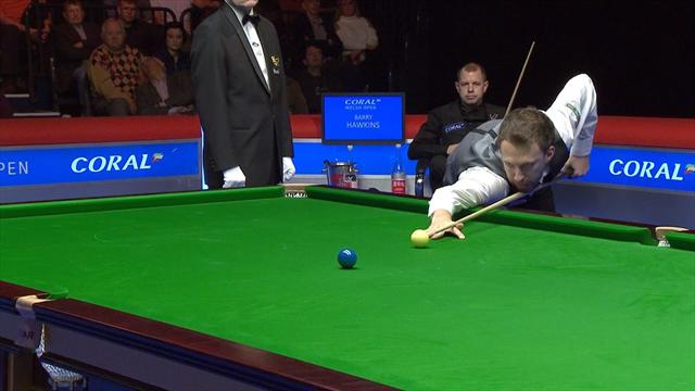 Final frame meltdown: Barry Hawkins gifts Judd Trump victory
