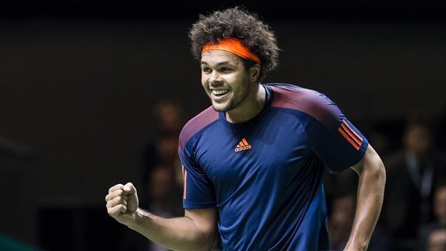 Tsonga beats Goffin to win Rotterdam title