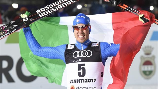 Pellegrino and Falla take first medals of Nordic World Championship