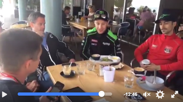 Rea, Laverty and Lowes chat to the guys - relive our Facebook live!