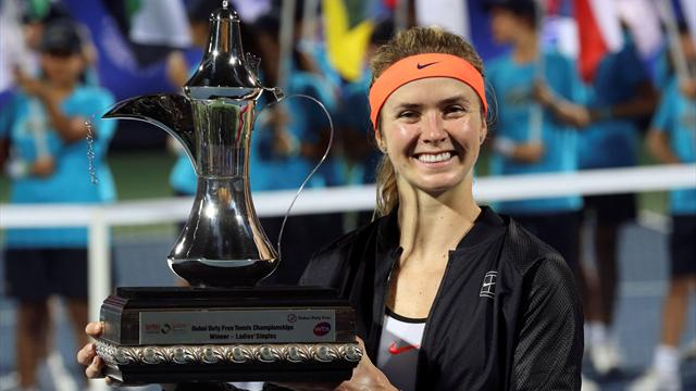 Svitolina gatecrashes top 10 after Dubai title