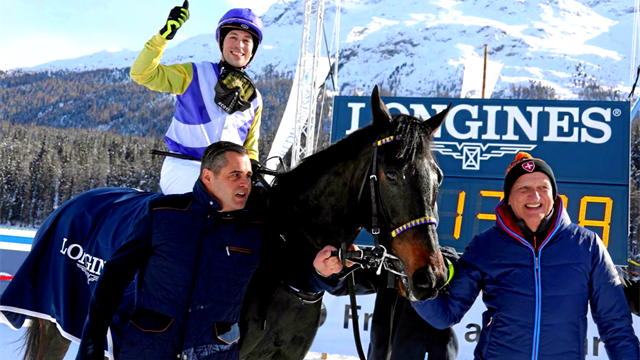 Longines Race of the Week - White Turf St Moritz