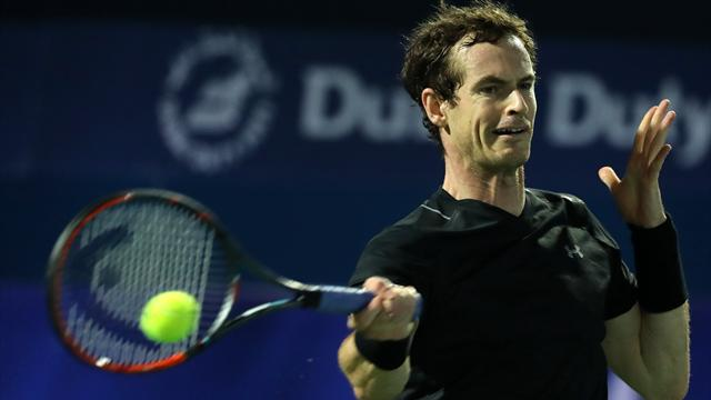 Murray eases to straight-sets win over Jaziri in Dubai first round