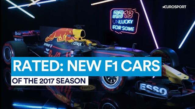 Rated: New Formula 1 cars of 2017