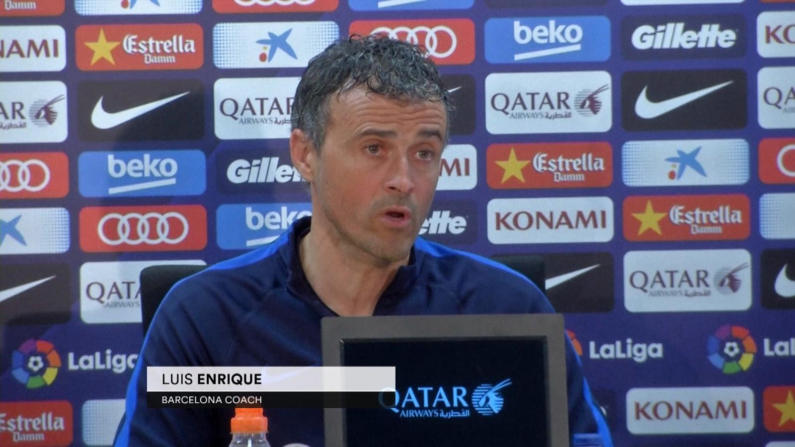 Video luis enrique admits barcelona 39 s style of play is - British basketball league table ...