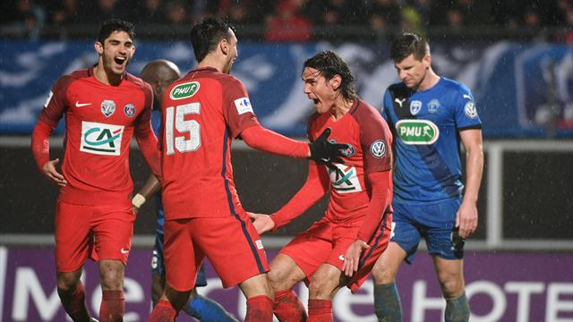 PSG, Nice remain in Ligue 1 title race against leaders Monaco