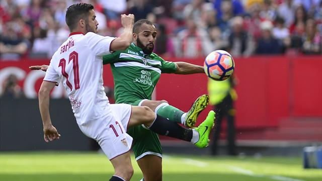 Sevilla loses ground with draw vs. Leganes