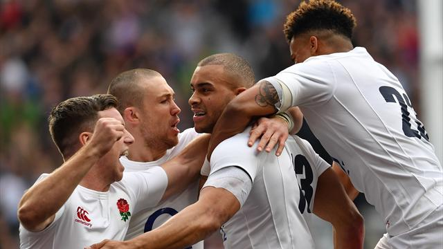 England destroy Scotland to clinch second straight title