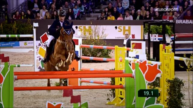 ROLEX MINUTE: Home favourite reigns at Indoor Brabant