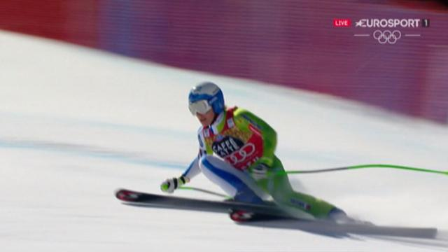 Stuhec clinches Downhill title with flying run