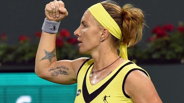 Kuznetsova reaches final in Indian Wells for first time since 2008