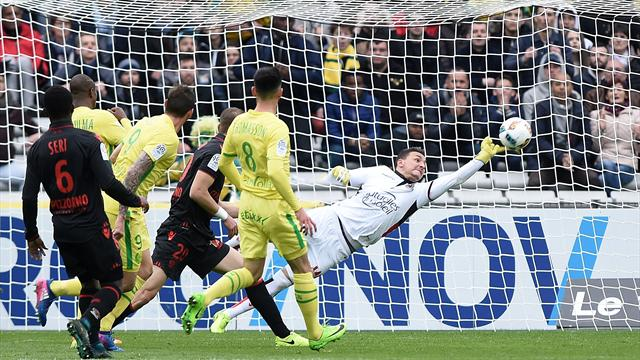 Nice held 1-1 at Nantes as title dream fades