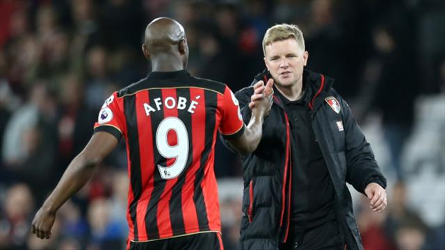 Bournemouth boss Eddie Howe hails Cherries' hitmen after beating Swansea