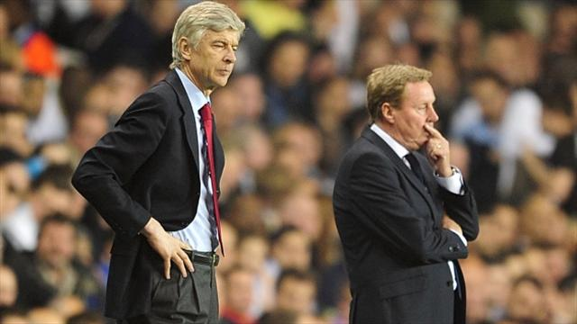 Harry Redknapp sees the end for Arsene Wenger at Arsenal