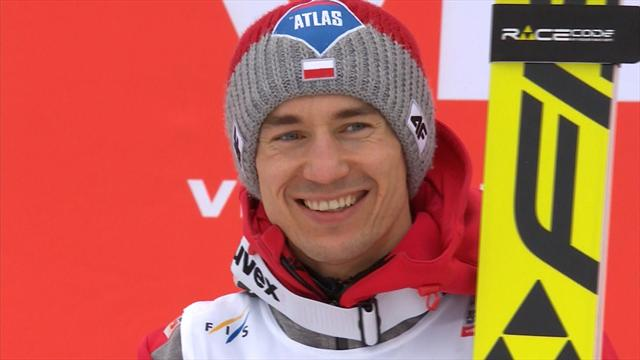 Stoch wins Vikersund individual event