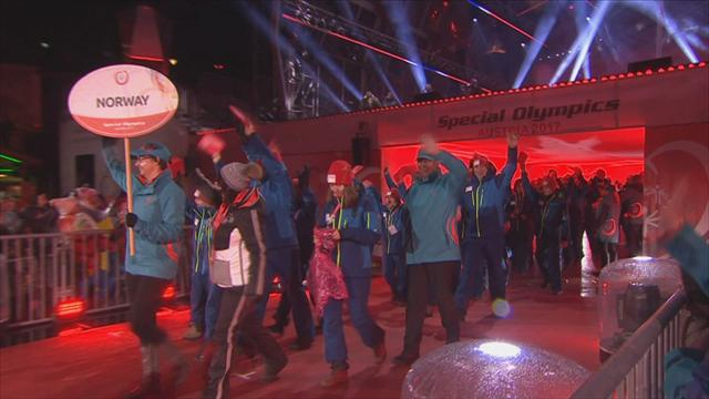 Vibrant ceremony opens Special Olympics World Winter Games