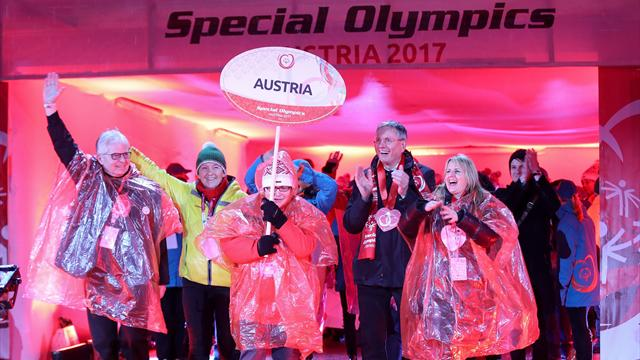 Special Olympics World Winter Games arrive in Austria