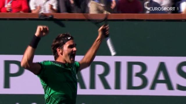 Rolex Minute: Federers Gala endet mit Turniersieg in Indian Wells