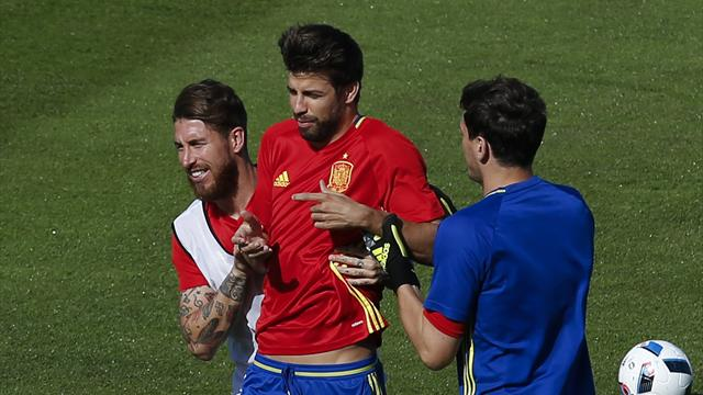 Ramos: I will give Pique a hug